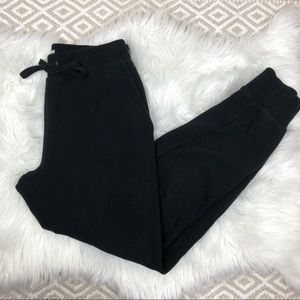 Madewell Terry Trouser Sweatpants Black XS Mile(s)